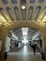 Mercado central - l'allée principale
