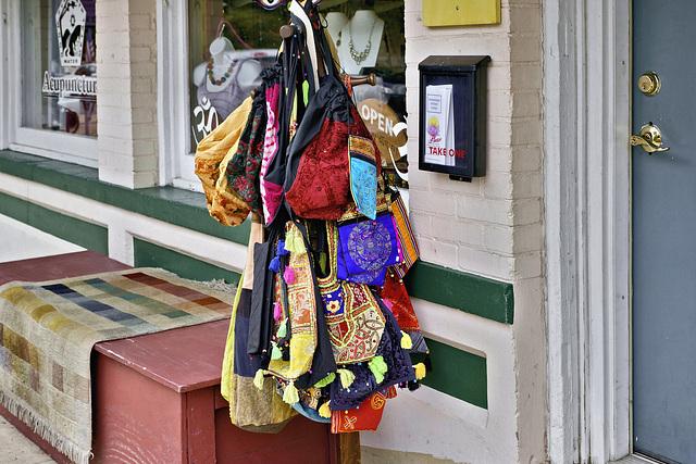 Acupuncture and Handbags – Fairfax Street, Berkeley Springs, West Virginia