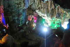 La grotte Baie d'Halong