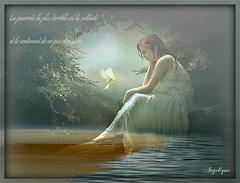 La pauvreté la plus terrible est la solitude et le sentiment d'être mal aimé.