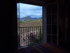 Los paisajes de mi habitación en Granada