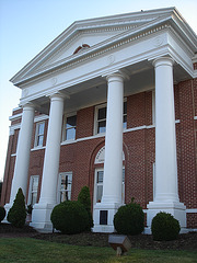 Alleghany county court house / Palais de justice - 15 juillet 2010.