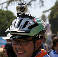 AIDS LifeCycle 2012 Closing Ceremony - Rider 2600 & GoPro Hero (5747)