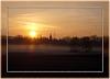Nebelschwaden und Sonnenstrahlen