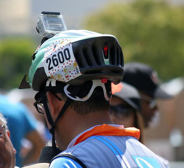 AIDS LifeCycle 2012 Closing Ceremony - Rider 2600 & GoPro Hero (5839)