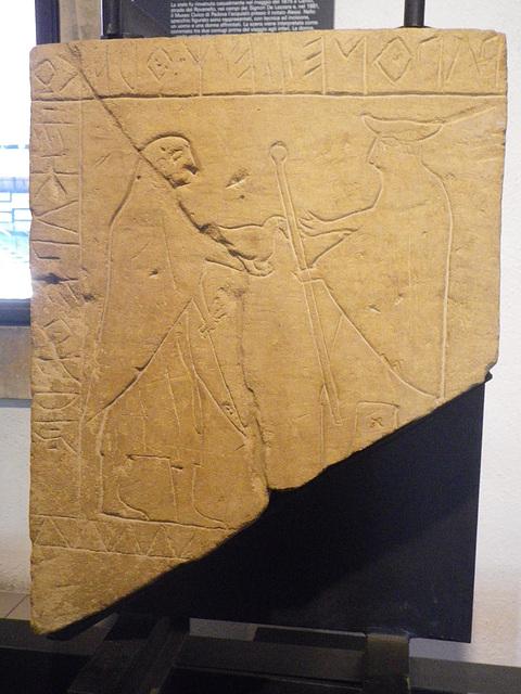 Padoue : stèle de Camin