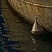 Une bouée dans le port des Goudes.