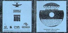 Tapa CD Colectivo Sonoro / 2012