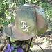 Funeral baseball hat / Casque de baseball funéraire - 6 juillet 2010