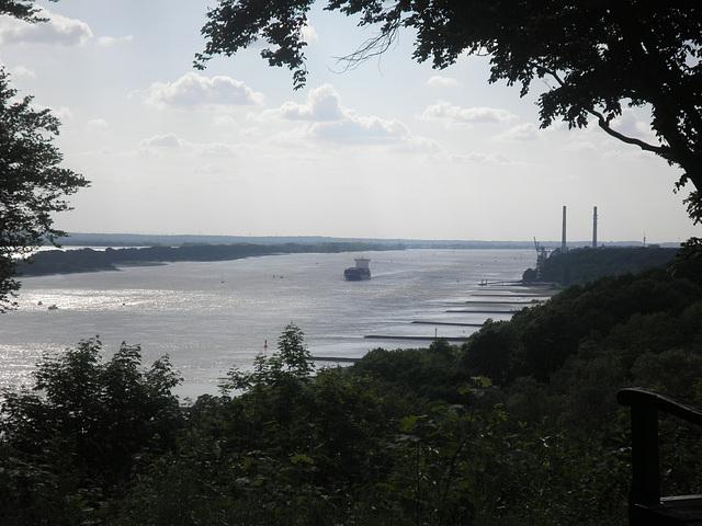 Panorama auf die Elbe