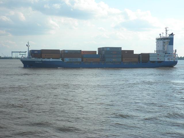 """Feeder-Containerschiff  """"FREYA"""""""