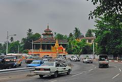 Kaba Aye Pagoda Road in Yangon