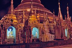 Around the pagoda step by step