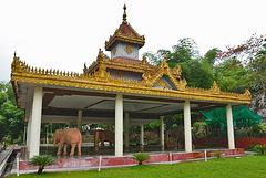 The white elephant pavilion