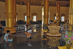 Inside the Swal Daw Pagoda
