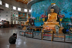 Inside the Kaba Aye Pagoda
