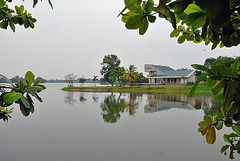 Inya Lake in Yangon