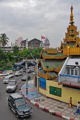 Sule Pagoda and its sad history