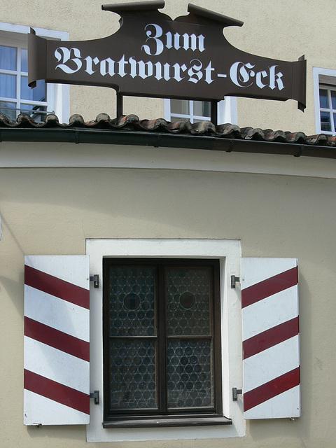 Regensburg - Zum Bratwurst-Eck
