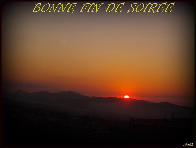 Bonne soiree..!