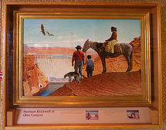 Glen Canyon Dam - Norman Rockwell (4397)