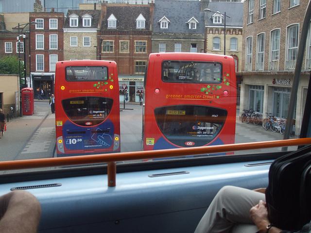 DSCF5729 Stagecoach (Cambus) AE10 BWO, AE10 BWC and AE10 BXM