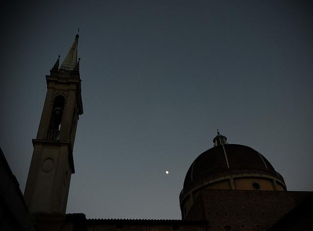lo scudiero, la luna, il cavaliere