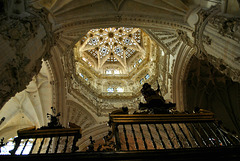 Cúpula del crucero de la catedral de Burgos