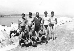 water polo team 1940' in great Dreieckbadehose # 1