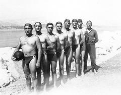 water polo team 1940' in great Dreieckbadehose # 2