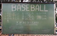 Baseball TCU vs UCLA (5078)