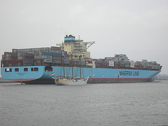 Containerschiff   MAERSK  ALTAIR