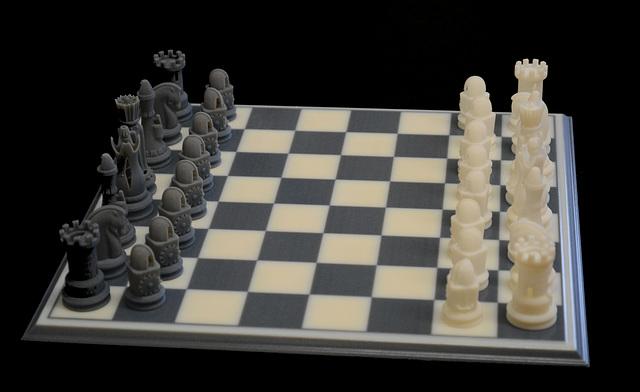 Pretty cool chess set