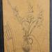 1960-07-28 Gladiolen meine-1-Zeichnung Atelier-Tom-Braun web