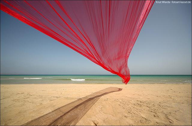Playa Sotavento on Fuerteventura