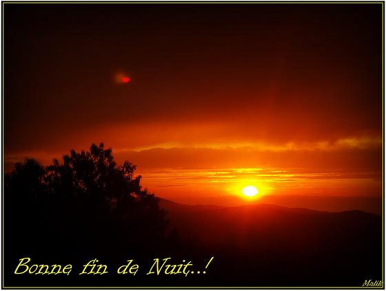 Bonne fin de nuit..!