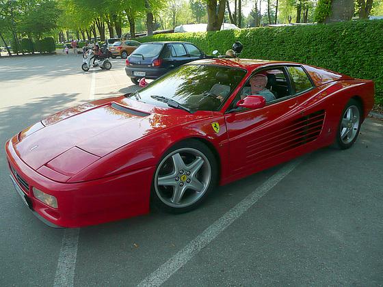 Fahrt im Ferrari - 428 PS
