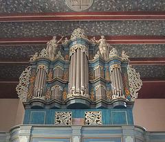 Orgel von 1757