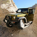 Scott's Jeep In A Narrow Slot (3827)