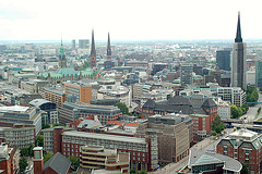 Hamburg aus der Sicht vom Michel!