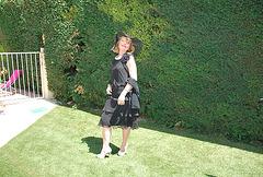 Dame Martine en talons hauts / Lady Martine in high heels  - Photo originale