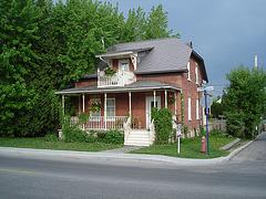 Maison sur St-Dominique street's house - 29 mai 2010.