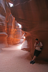 Antelope Canyon - Our Guide Rob (4357)
