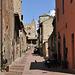 Via Boccaccio, die Hauptstraße Certaldo Altos