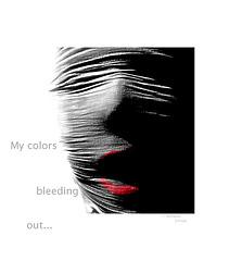 bleeding out...