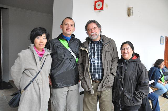Etsuko, Brandon, Kani kaj Carmela
