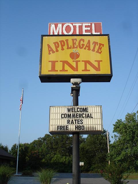 Motel Applegate INN - Cleveland, Tennessee / 11 juillet 2010.
