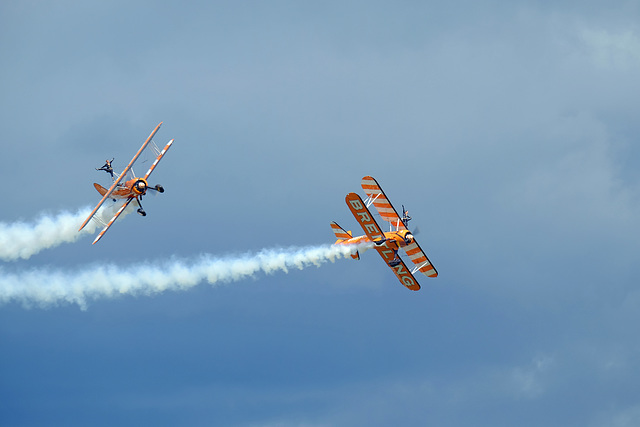 Wings and Wheels Dunsfold August 2014 X-T1 Breitling Wingwalkers 2
