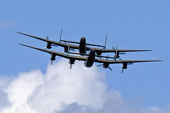 Wings and Wheels Dunsfold August 2014 X-T1 Lancasters 5 100% crop