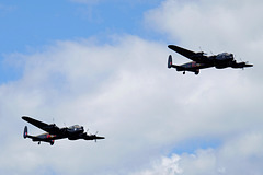 Wings and Wheels Dunsfold August 2014 X-T1 Lancasters 6